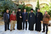 Mayor of Jerusalem visits Russian Ecclesiastical Mission
