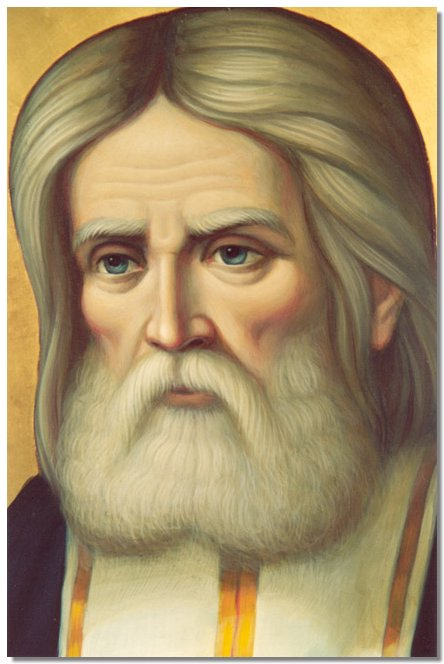 Piece of Saint Seraphim of Sarov's relics now sheltered at Bulgaria's Patriarchal Cathedral