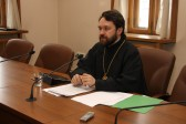 Metropolitan Hilarion presides over the working group drafting the Russian Orthodox Church's up-to-day catechesis