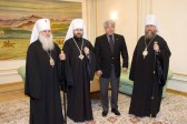 Metropolitan Hilarion meets with Minister of Foreign Affairs of Kazakhstan