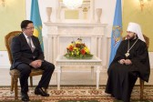 Chairman of the Department for External Church Relations meets with the head of Agency for Religious Affairs of the Republic of Kazakhstan