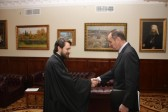 Metropolitan Hilarion of Volokolamsk meets with Swiss Ambassador to Russia
