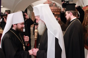 Delegation of Russian Orthodox Church takes…