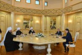 Kazakh Senate Speaker Meets Chairman of the Department for External Church Relations of the Russian Orthodox Church