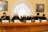 Press conference on results of Bishops' Council of Russian Orthodox Church took place
