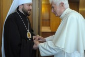 Metropolitan Hilarion of Volokolamsk comments on reports about Pope Benedict XVI's retirement