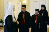 His Holiness Patriarch Kirill meets with Maronite Patriarch Béchara Boutros Al-Raï