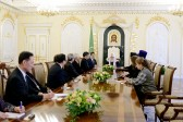 His Holiness Patriarch Kirill meets with delegation of National Council of Churches in Korea