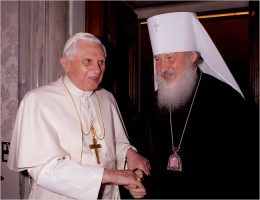 Patriarch Kirill thanks Benedict XVI for…