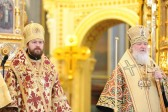 Primate of the Russian Church celebrates at Christ the Saviour Cathedral on the Sunday of Orthodoxy