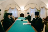 Patriarch Kirill Meets a Hierarch of the Orthodox Church of Antioch