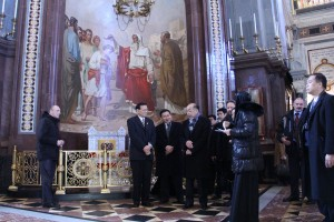 Thailand state delegation visits Cathedral of…