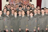 Audience for cadets at the Serbian Patriarchate on the occasion of the feast of Saint Simeon the Myrrh-Gusher