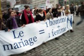 Another massive rally in Paris against same-sex marriage