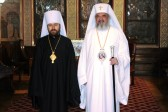 Metropolitan Hilarion of Volokolamsk meets with His Beatitude Patriarch Daniel of Romania