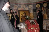 Celebration of Venerable Saint Simeon the Myrrh-Gusher in Hilandar