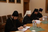 Metropolitan Hilarion of Volokolamsk meets with delegation of the Church of Greece