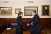 Metropolitan Hilarion meets with Iranian ambassador to Russia