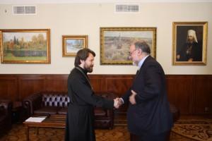 Metropolitan Hilarion meets with Iranian ambassador…