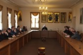 Metropolitan Hilarion meets with participants of Higher Diplomatic Courses