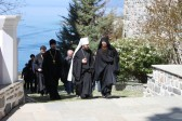 Metropolitan Hilarion of Volokolamsk visits Monastery of St. Panteleimon on Mount Athos