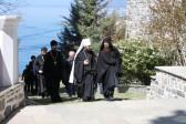 Metropolitan Hilarion of Volokolamsk visits Monastery of St. Panteleimon on Mount Athos