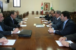 Bogdanov Urges No Interference in Lebanon,…