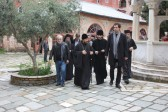 DECR chairman continues his pilgrimage to Mount Athos