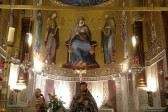 Orthodox service celebrated the Palatine Chapel, the house Church of Sicilian kings