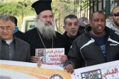 Archbishop leads Jerusalem sit-in for prisoners