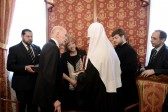 His Holiness Patriarch Kirill meets with Tsar Simeon II of Bulgaria
