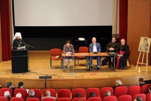 Metropolitan Hilarion of Volokolamsk speaks at…