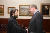 Metropolitan Hilarion of Volokolamsk meets with German Ambassador to Russia