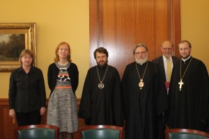 Metropolitan Hilarion meets with State Secretary…