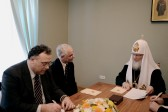 Patriarch Kirill meets with Hungary's minister for social resources Zoltan Balog