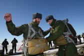 Russian paratrooper chaplains: Heavenly forces uncover domes