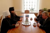 Metropolitan Hilarion meets with Deputy head of Belarusian Presidential Administration