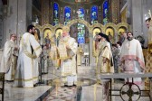 Archbishop Ieronymos Presides At Divine Liturgy Concelebration at Holy Trinity Cathedral