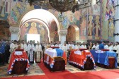 Remains of Serbian royals transferred to Oplenac