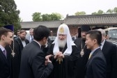 Primate of Russian Orthodox Church meets with religious figures of China