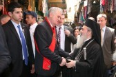 Serbian president meets with patriarch of Jerusalem