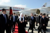 His Holiness Patriarch Kirill arrives in Harbin