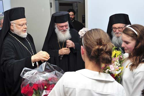 The Greek Orthodox Archdiocese of America Welcomes With