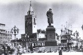 Building of a new Church proposed on the site of the monument to Pushkin on Pushkin square in the centre of Moscow