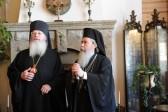Patriarch Theophilos of Jerusalem arrives in Valamo