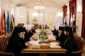 Regular session of the Holy Synod is completed in St. Petersburg