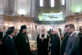 His Holiness Patriarch Kirill visits St. Sophia Cathedral in Harbin
