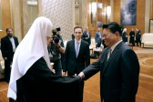 Patriarch Kirill meets with vice-governor of Chinese province of Heilongjiang