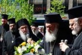 Archbishop Ieronymos Makes Emotional Visit and Lays Wreath at the Site of the Boston Marathon Terrorist Attack