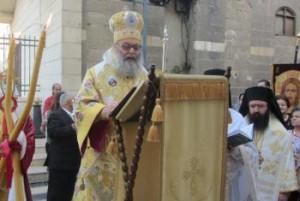 His Beatitude Patriarch John X, Pascha 2013